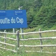 Arrivée à Cap-St-Georges. Vais-je m'aventurer dans ce sentier???