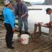 Mais de humbles pêcheurs, partout.