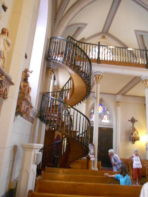 escalier en colimacon sans pilier central
