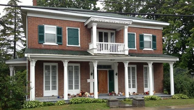 J'aime les maisons.