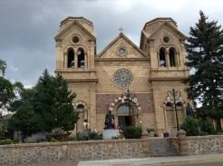 La cathédrale saint François d'Assise, mon saint préféré.