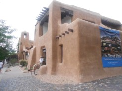 Musée of Fine Arts of New-Mexico. J'ai fait la tournée des galeries en ce vendredi...