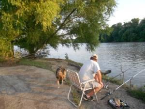 Pêcheur à Fairland