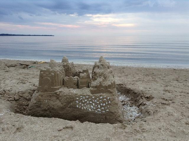 Un chateau au lac Ontario juste pour nous.
