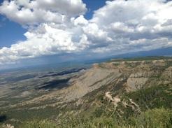 2e arrêt: le rock Point; oui j'y suis montée (un bout avec Gontran quand même) 8572 pieds.