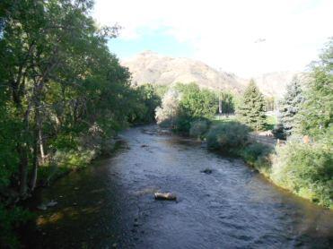 Toujours belle cette rivière Colorado,