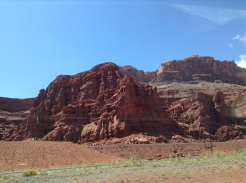 Utah, juste avant de rentrer au Colorado: dernières belles montagnes.
