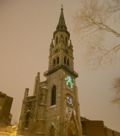 Saint-Jacques, celle à laquelle lUniversité du Québec s'accroche, coin Saint-Denis et Maisonneuve