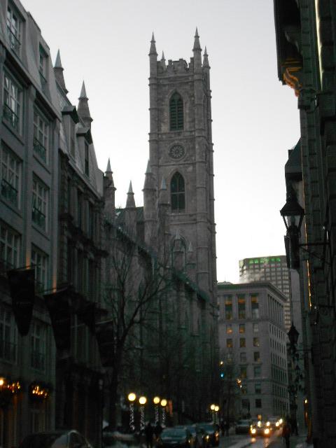 Église Notre-Dame vue de derrière