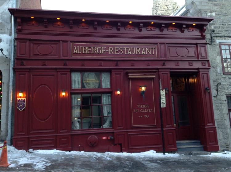 restaurant de Pierre du Calvet