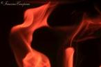 LA FLAMME SE FAIT D'ABORD TIMIDE,