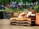 Le parc Émilie-Gamelin, qui a bien changé d'allure...
