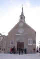 Église Notre-Dame-des-Victoires, dont l'extérieur ne paie pas de mine, mais...
